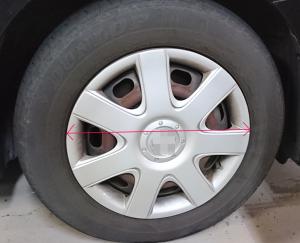 タイヤサイズ インチ