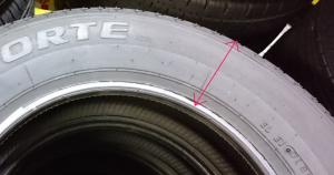 タイヤ扁平率