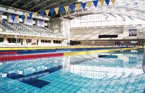 群馬県立敷島公園水泳場