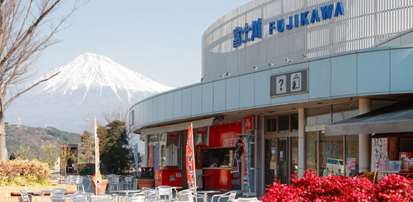 富士川サービスエリア 下り
